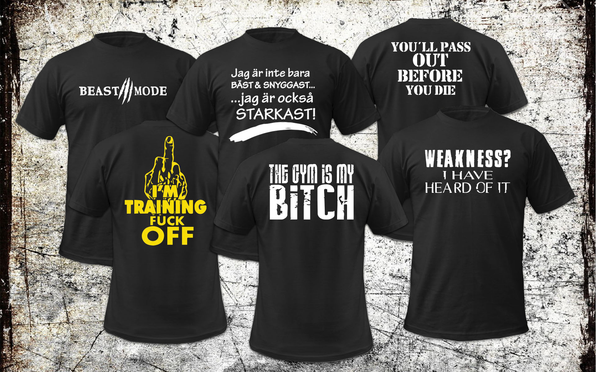 T-shirts quotes